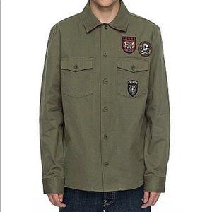 DC Shoes Jedbergh Military Shirt Jacket Medium